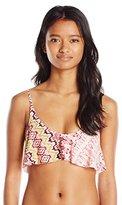 O'Neill Women's Bahia Ruffle Bikini Top