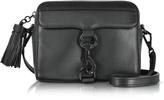 Rebecca Minkoff Black Leather MAB Camera Bag