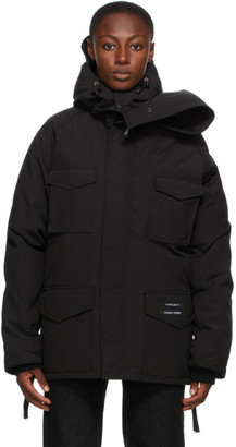 Y/Project Black Canada Goose Edition Down Constable Parka