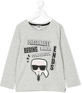 Karl Lagerfeld print T-shirt