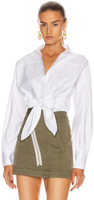 Marissa Webb Emmerson Oxford Shirt in White | FWRD