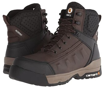 Carhartt 6 Composite Toe Waterproof Work Boot (Dark Brown) Men's Work Boots