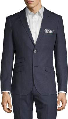 Paisley & Gray Slim Fit Sharkskin Sport Jacket