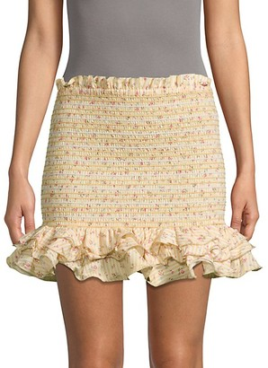 Petersyn Barrett Ruffle Skirt