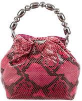 Christian Dior Snakeskin Handle Bag
