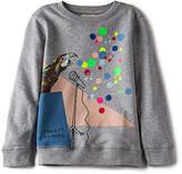 Stella McCartney Betty Girls Sweatshirt in Gray
