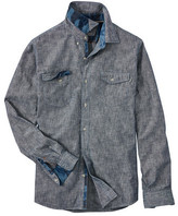 Timberland Men's Mumford River Camo Button Down Shirt