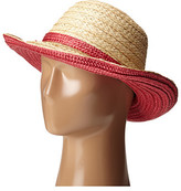 Kate Spade Color Blocked Asymmetrical Sun Hat