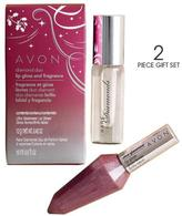 Avon Diamond Duo Lip Gloss and Fragrance Gift Set