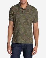 Eddie Bauer Men's Field Short-Sleeve Polo Shirt - Print