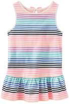 Osh Kosh Oshkosh Bgosh Girls 4-8 Striped Drop-Waist Tunic