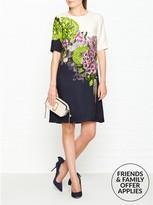 Hobbs Cheryl Floral Print Dress