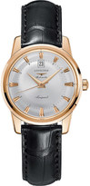 Longines L1.611.8.78.4 Conquest Heritage rose gold watch