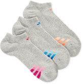 adidas Women's 3-Pk. Cushioned No-Show Socks