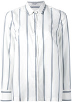Brunello Cucinelli striped shirt - women - Silk - M
