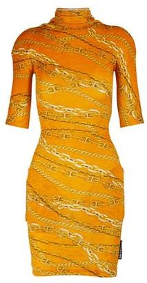 Balenciaga Turtleneck mini dress