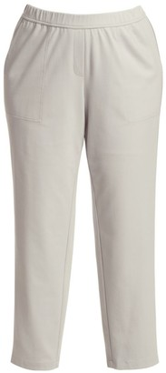 Lafayette 148 New York, Plus Size Fulton Elasticized-Waist Pants