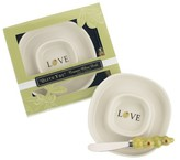 """Kate Aspen Olive You"""" Olive Tray and Spreader (Set of 12)"""