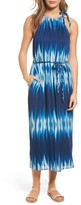 Tommy Bahama Women's Petra Tie Neck Maxi Dress