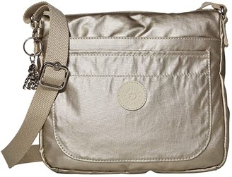 Kipling Sebastian Crossbody Bag (Cloud Metal) Handbags
