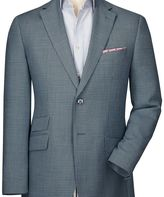 Charles Tyrwhitt Slim fit grey birdseye wool jacket
