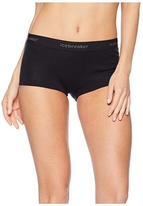 Icebreaker Everyday Boyshorts (Black 1) Women's Shorts