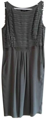 Georges Rech Khaki Silk Dress for Women