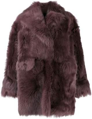 Blancha oversized shearling jacket
