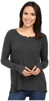 Michael Stars Madison Brushed Jersey Long Sleeve w/ Thumbholes