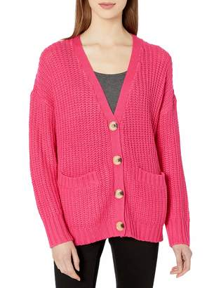 The Fifth Label Women's Novel Chunky Sweater Knit Fashion Cardigan