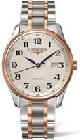 Longines Men's Two Tone Steel Bracelet Steel Case Automatic Watch L28935797