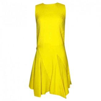 Christian Dior Yellow Wool Dress for Women