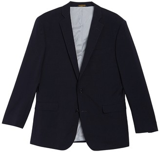 Brooks Brothers Wool Blend Notch Collar Double Button Jacket