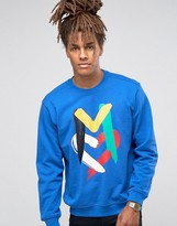 Love Moschino Paint Logo Sweater