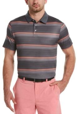 PGA Tour Men's Big & Tall Gradient-Stripe Golf Polo