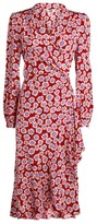 Diane von Furstenberg Carla Wrap Midi Dress