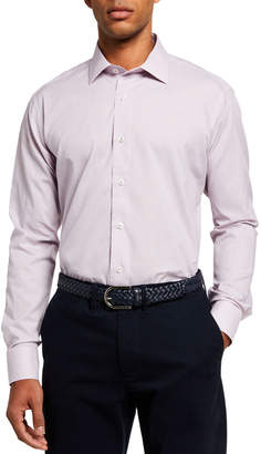 Neiman Marcus Men's Modern-Fit Long-Sleeve Sport Shirt