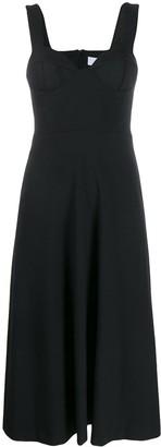 Chalayan Sleeveless Midi Dress