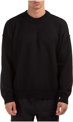 Palm Angels Logo Knit Sweater