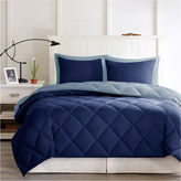 Asstd National Brand Larkspur Microfiber Reversible Down Alternative Comforter Set