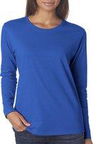 Gildan Missy Fit Heavy Cotton Fit Long-Sleeve T-Shirt - XL