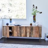 "west elm Roar + RabbitTM Brass Geo Inlay Media Console (68"")"