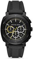 Michael Kors Bax Chronograph Silicone-Strap Watch