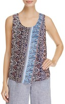 Nic+Zoe Casa Blanca Abstract Print Tank