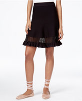 Rachel Roy Mixed-Media Sweater Skirt, Only at Macy's