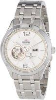 Orient Men's CDB05001W 50m Semi Skeleton 21 Jewels Watch