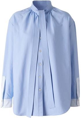 Burberry Neck-Tie Shirt