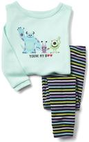 babyGap | Disney Baby Monster's Inc. Boo sleep set