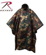 Rothco G.I. Plus Brand - Enhanced uflage Rip-Stop Poncho