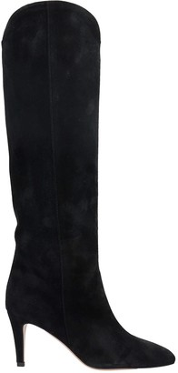 The Seller High Heels Boots In Black Suede